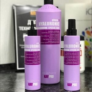 Hair products. Shampoo, Color, treatments
